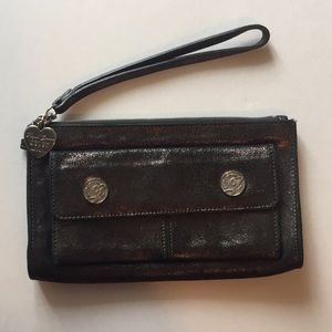 Juicy Couture wristlet - used